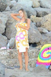 Denise Richards in Bikini at the Beach in California 07/31/2016-9