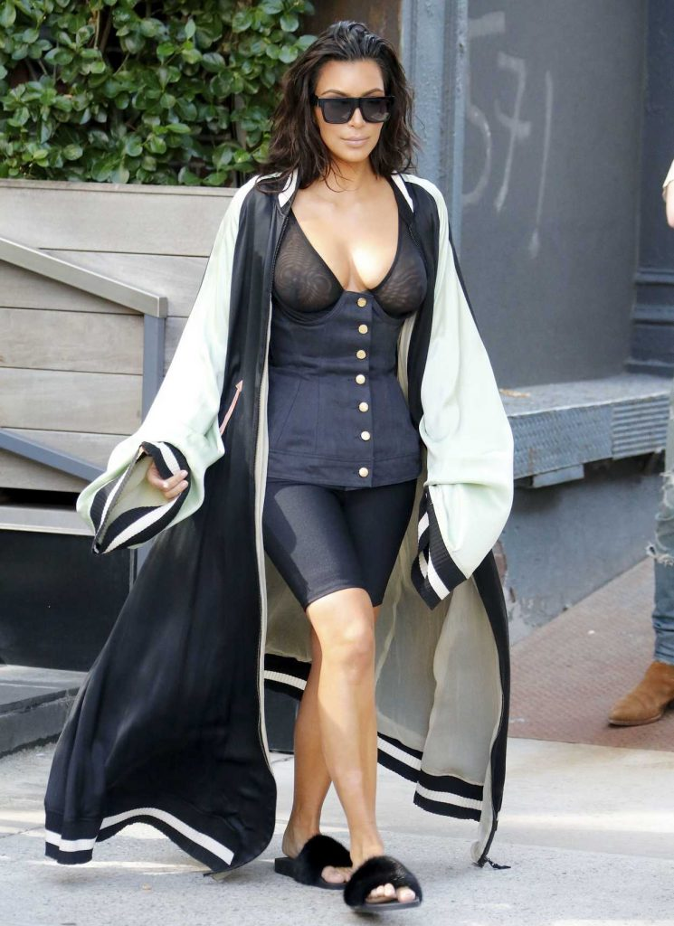 Kim Kardashian Was Spotted Out in New York City 08/30/2016-1