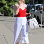Elle Fanning Leaves Il Tramezzino in Studio City 09/29/2016-4