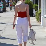 Elle Fanning Leaves Il Tramezzino in Studio City 09/29/2016-5