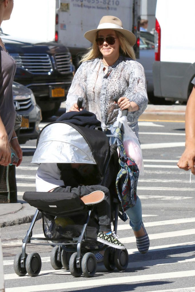 Hilary Duff Was Seen Out in New York 09/15/2016-1