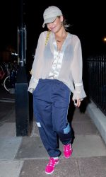 Rita Ora Leavies a Recording Studio in London 09/12/2016-2
