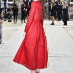 Hailee Steinfeld at the Valentino Show Durig the Paris Fashion Week 10/02/2016-3