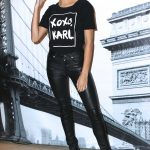 Hailey Baldwin at the Karl Lagerfeld Paris Collection Launch Event in New York 10/18/2016-3