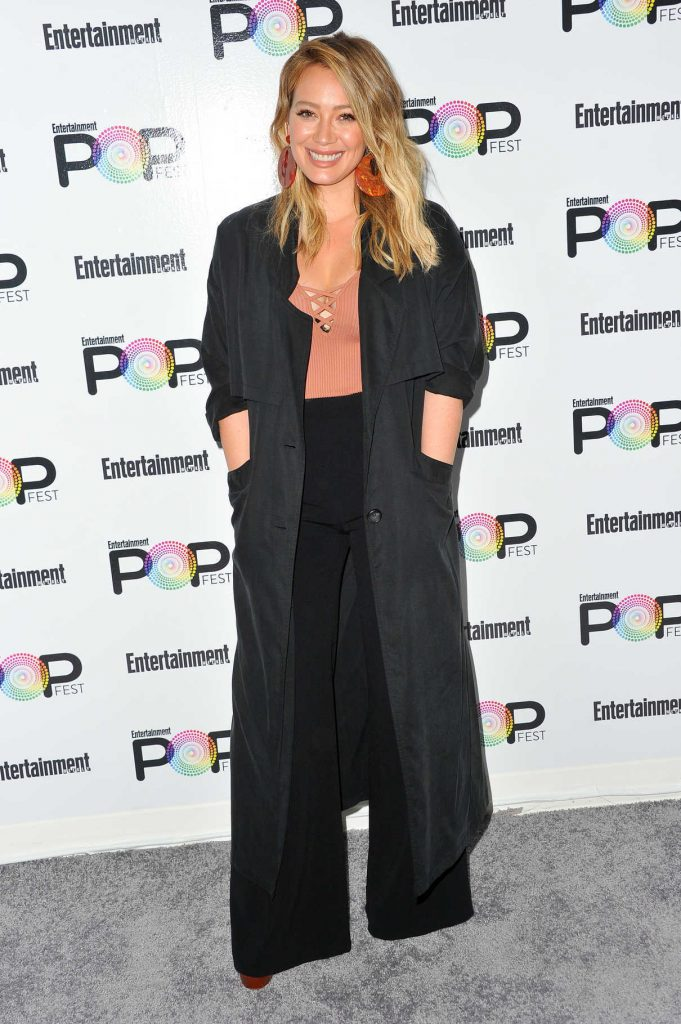 Hilary Duff at Entertainment Weekly's PopFest in Los Angeles 10/30/2016-1