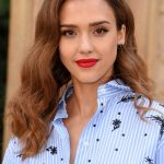 Jessica Alba at the Valentino Show Durig the Paris Fashion Week 10/02/2016-5