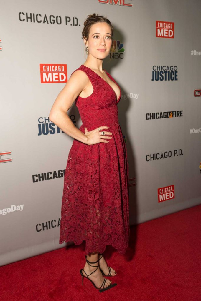 Marina Squerciati at the Dick Wolf Kick-Off Party in Chicago 10/24/2016-1