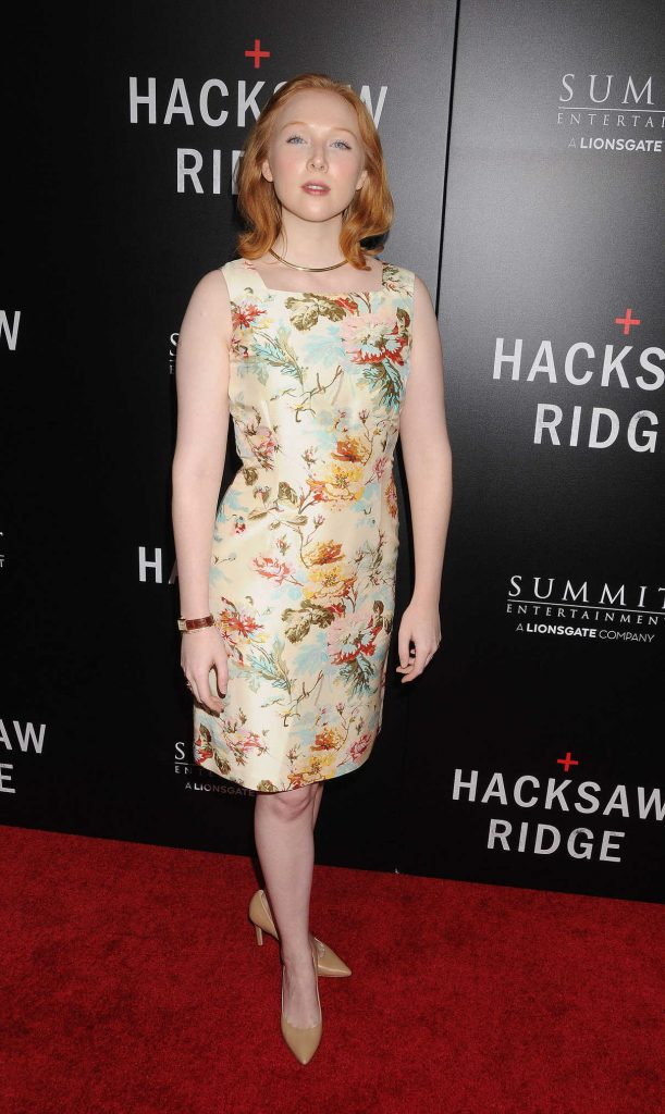 Molly Quinn at the Hacksaw Ridge Premiere in Los Angeles 10/25/2016-1