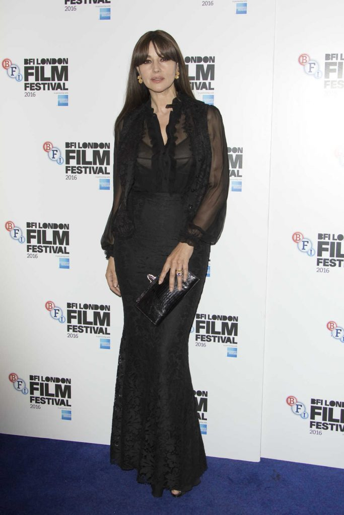 Monica Bellucci at On the Milky Road Screening During the London Film Festival 10/15/2016-1