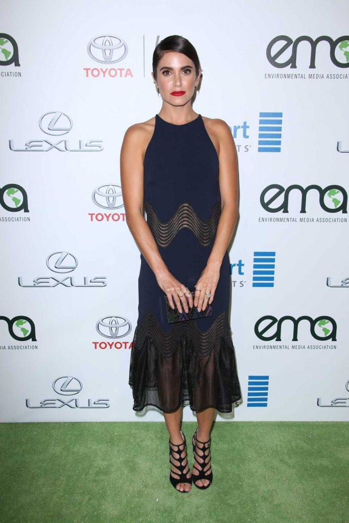 Nikki Reed at the 26th Annual EMA Awards in Burbank 10/22/2016-1