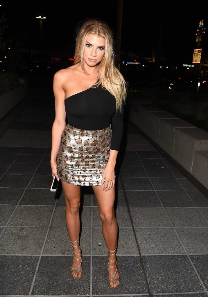 Charlotte McKinney Arrives at the Revolve Winter Formal Event at NeueHouse in Los Angeles 11/10/2016-1