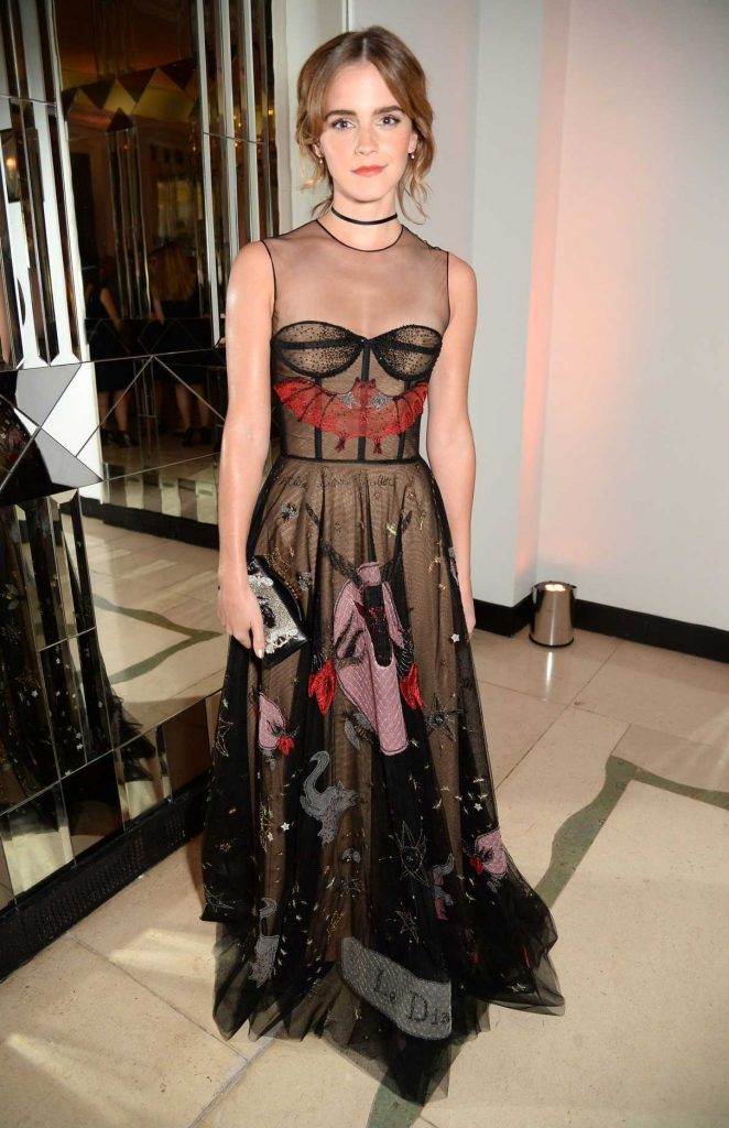 Emma Watson at the Harper's Bazaar Women of the Year Awards in London 10/31/2016-1