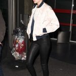 Gigi Hadid Arrives at CDG Airport in Paris 11/26/2016-4