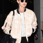 Gigi Hadid Arrives at CDG Airport in Paris 11/26/2016-5