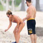 Hilary Duff in Bikini at the Beach in Puerta Vallarta, Mexico 11/12/2016-5