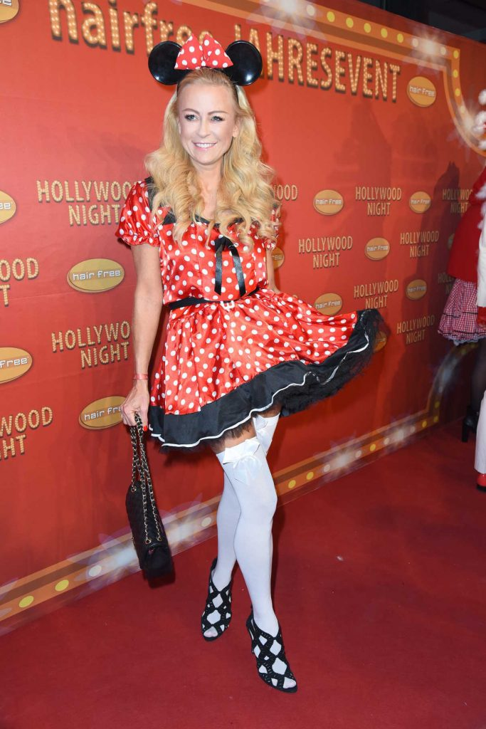 Jenny Elvers at the Hairfree Hollywood Superhero Fairytale Night in Darmstadt 11/26/2016-1