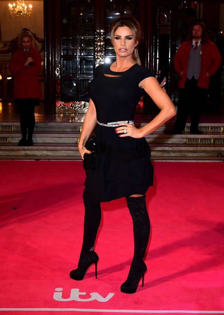 Katie Price  at the ITV Gala in London 11/24/2016-1
