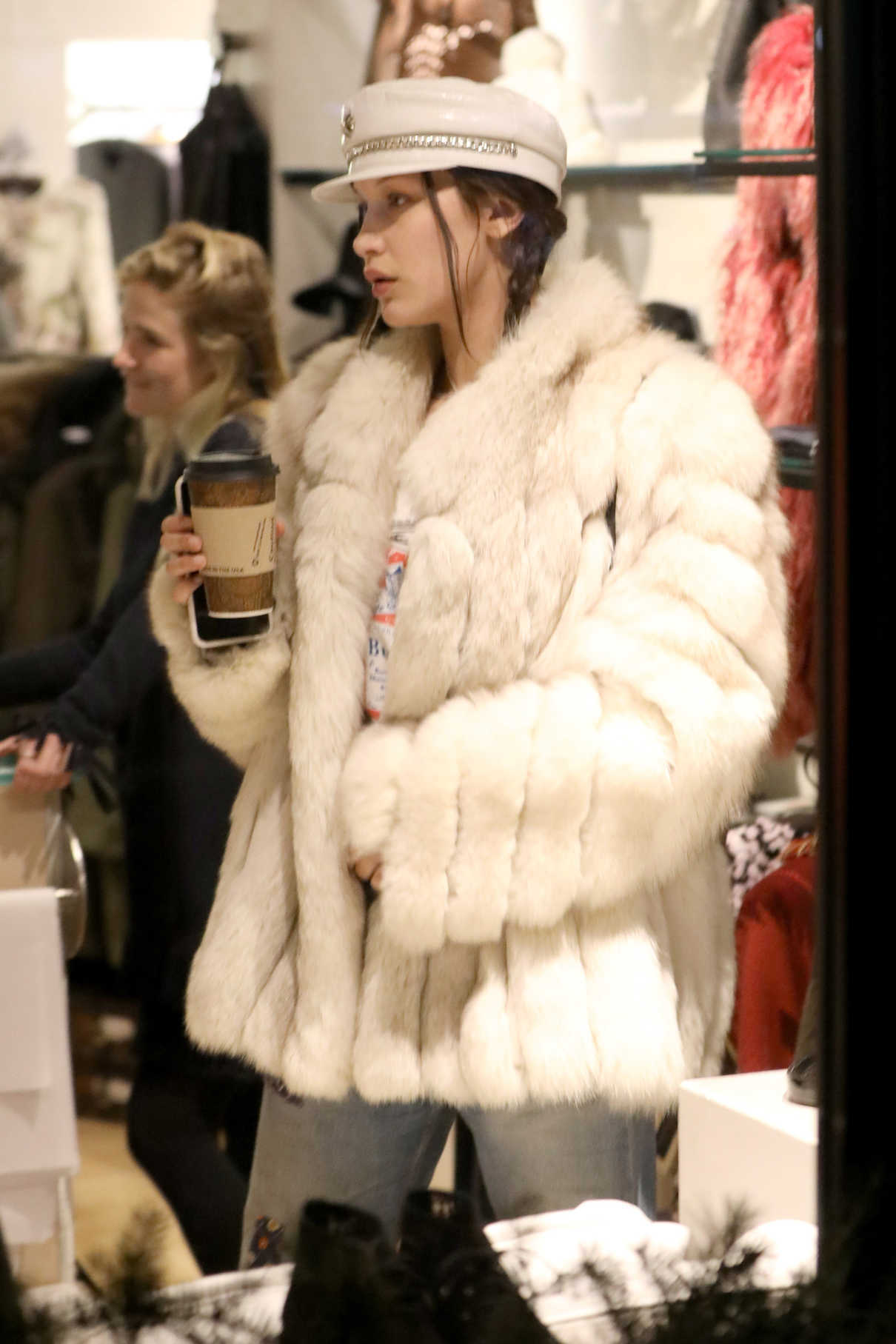 Bella Hadid Goes Shopping in Aspen 12/27/2016-4