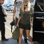 Fergie and Josh Duhamel Leave LAX Airport in LA 12/29/2016-3