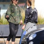 Hilary Duff Stops by a Gym in Studio City 12/28/2016-5