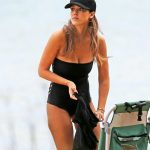 Jessica Alba Wearing a Swimsuit at the Beach in Hawaii 12/28/2016-4