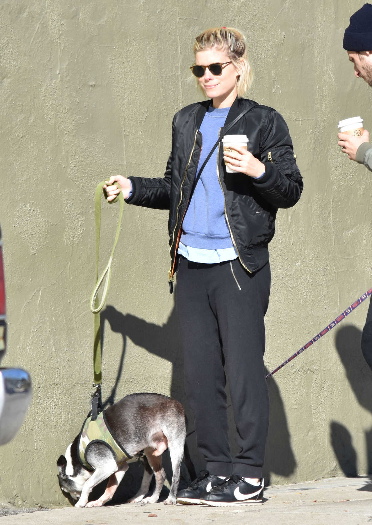 Kate Mara Walks Her Dogs With Jamie Bell in Los Feliz 12/17/2016-3