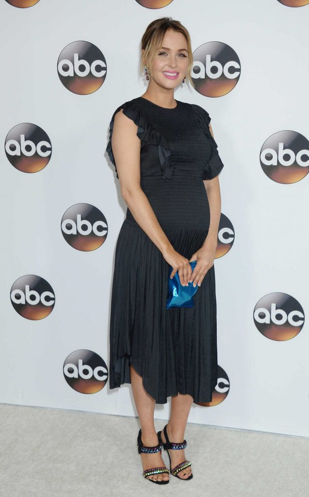 Camilla Luddington at the Disney ABC Television Hosts TCA Winter Press Tour in Pasadena 10/01/2017-1