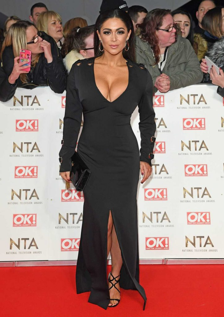 Casey Batchelor at the National Television Awards in London 01/25/2017-1