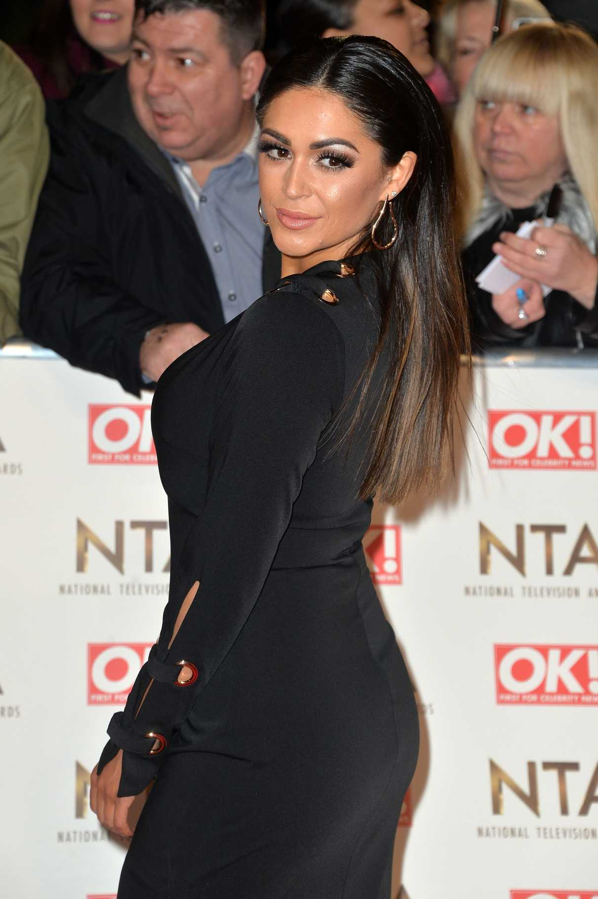Casey Batchelor at the National Television Awards in London 01/25/2017-4