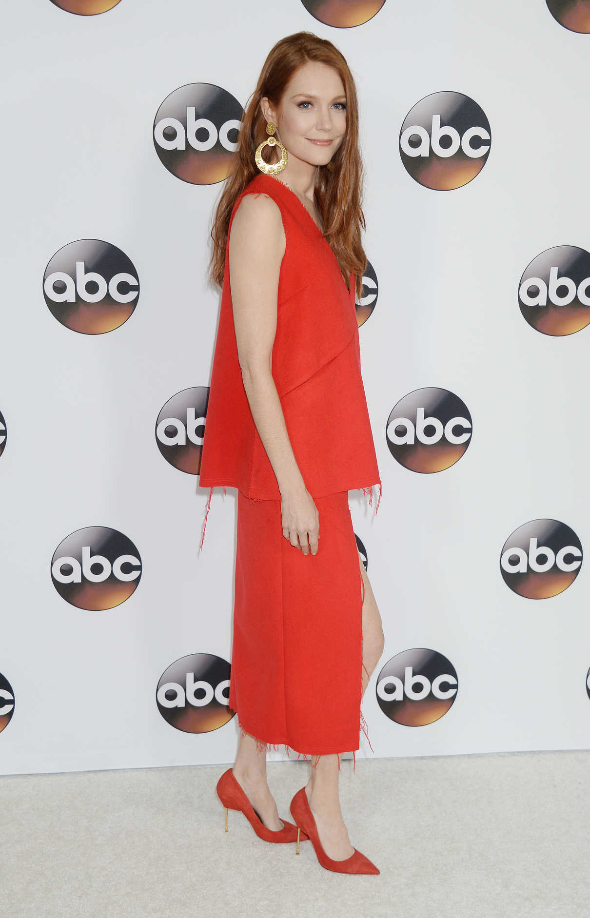 Darby Stanchfield at the Disney ABC Television Hosts TCA Winter Press Tour in Pasadena 10/01/2017-3