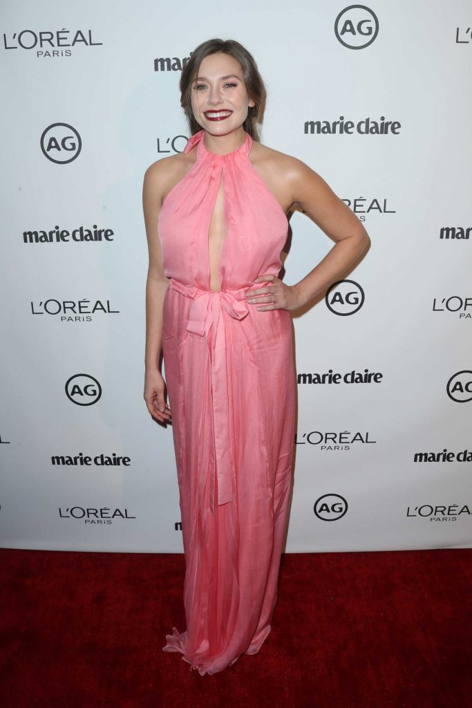 Elizabeth Olsen at the Marie Claire Image Maker Awards in Los Angeles 10/01/2017-1