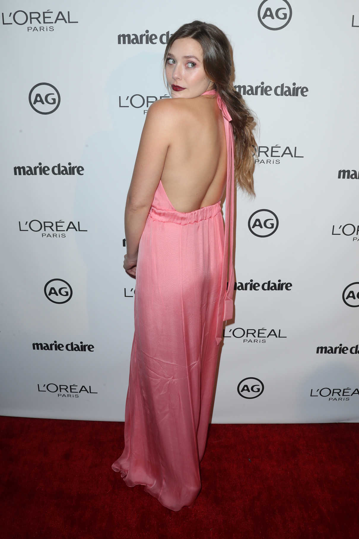 Elizabeth Olsen at the Marie Claire Image Maker Awards in Los Angeles 10/01/2017-3