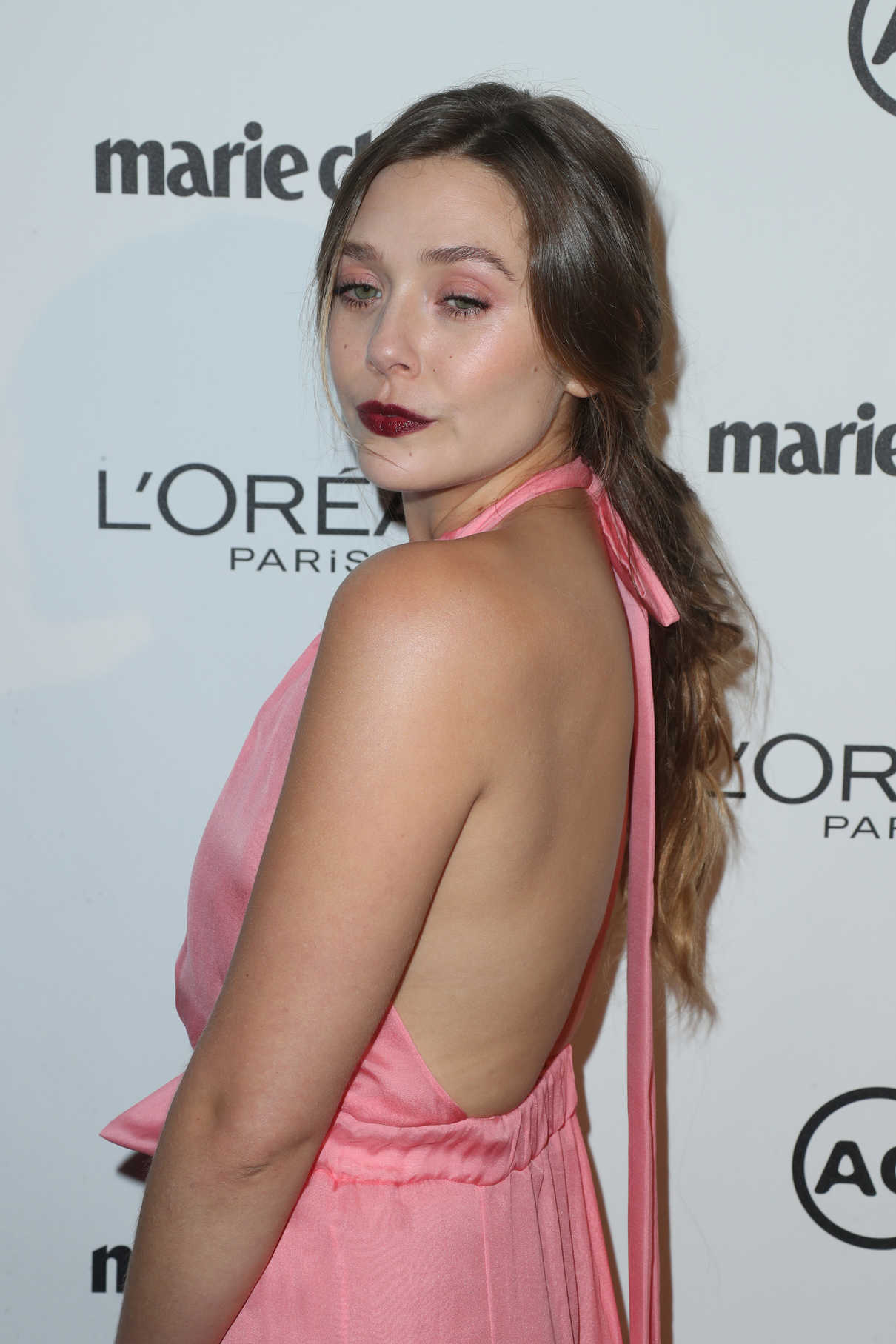 Elizabeth Olsen at the Marie Claire Image Maker Awards in Los Angeles 10/01/2017-4