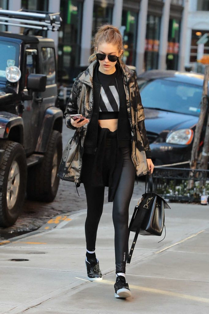 Gigi Hadid Was Seen Out in NY 01/15/2017-1