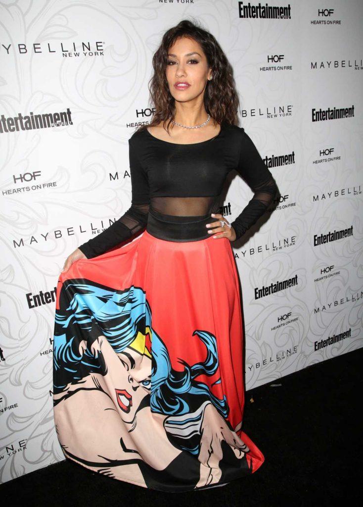 Janina Gavankar at the 2017 Entertainment Weekly Celebration of SAG Award Nominees in Los Angeles 01/28/2017-1