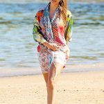 Jessica Alba Was Seen at the Beach in Hawaii 01/01/2017-3