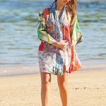 Jessica Alba Was Seen at the Beach in Hawaii 01/01/2017-4