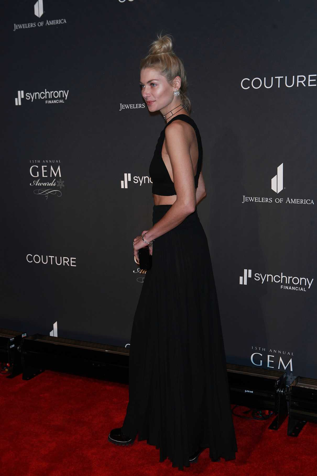 Jessica Hart at the 15th Annual GEM Awards Gala in New York 01/13/2017-2
