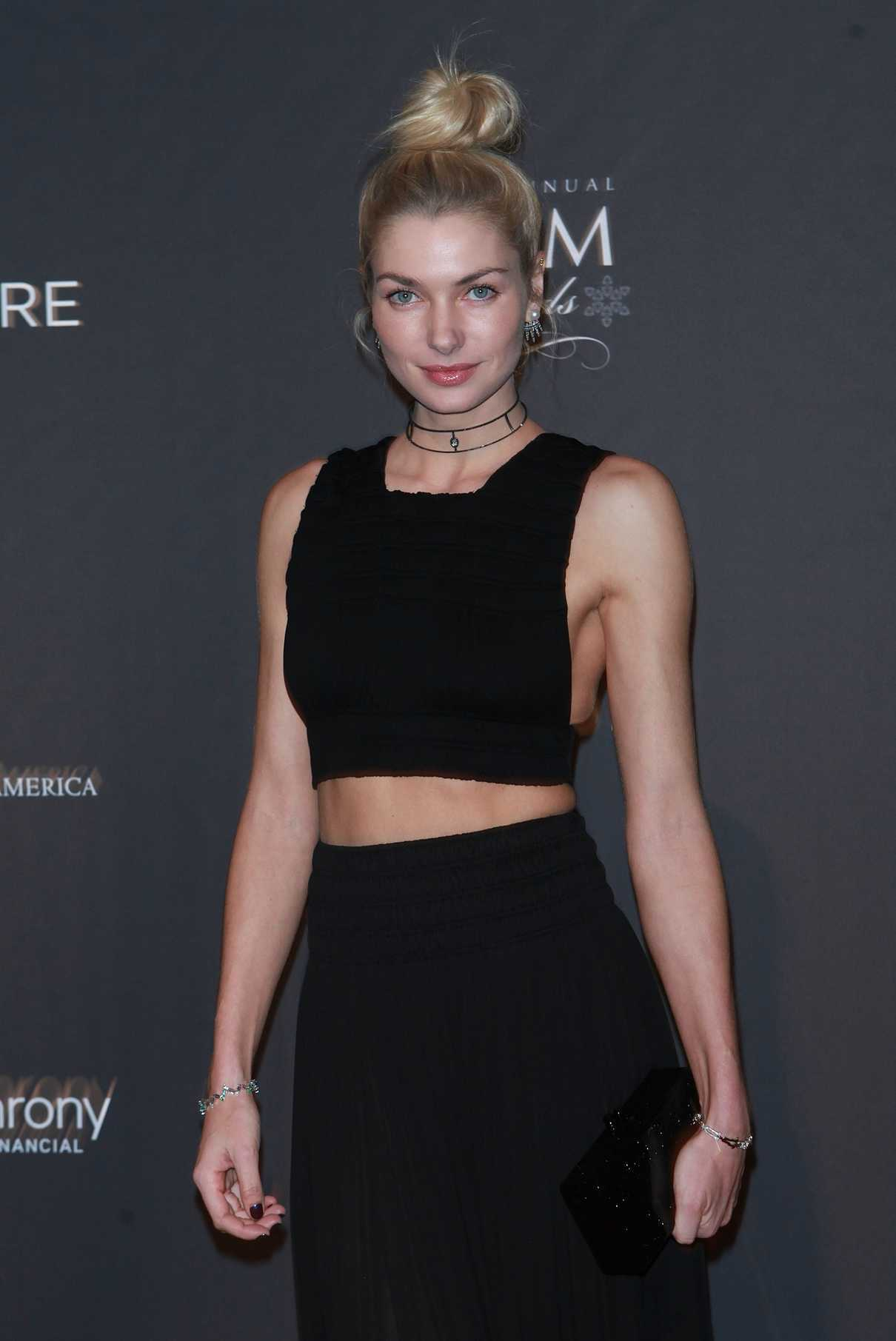 Jessica Hart at the 15th Annual GEM Awards Gala in New York 01/13/2017-4