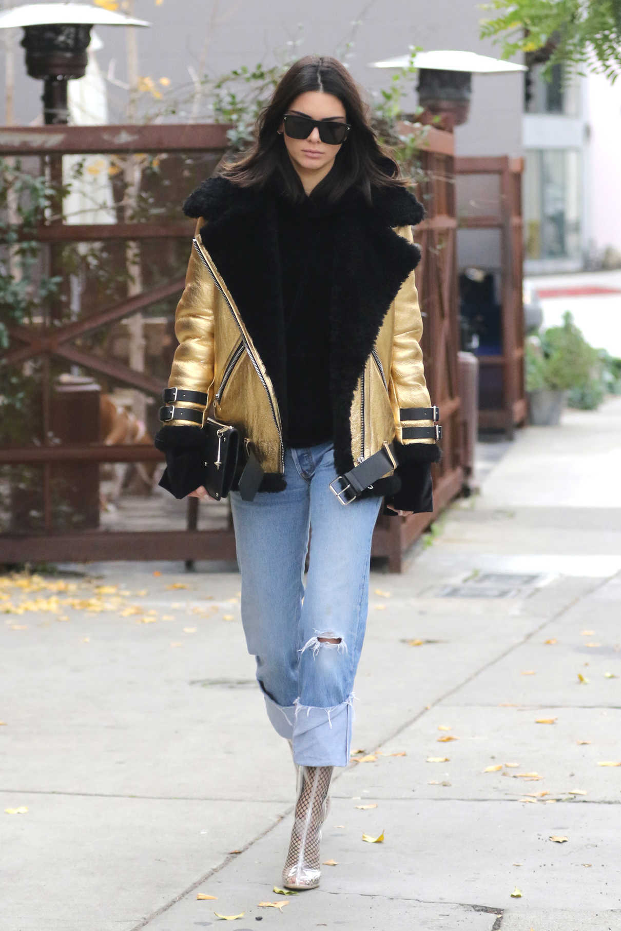 Kendall Jenner Out Shopping in West Hollywood 01/02/2017-2