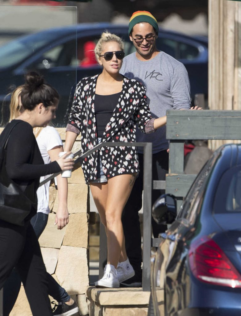 Lady Gaga Was Seen Out in Malibu 01/10/2017-1