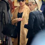 Lea Michele Was Seen With Emma Roberts in West Hollywood 01/05/2017-3