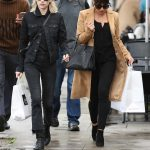 Lea Michele Was Seen With Emma Roberts in West Hollywood 01/05/2017-5