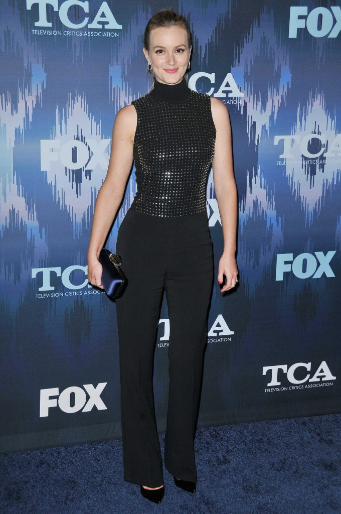 Leighton Meester at the FOX All-Star Party During the 2017 Winter TCA Tour in Pasadena 01/11/2017-1