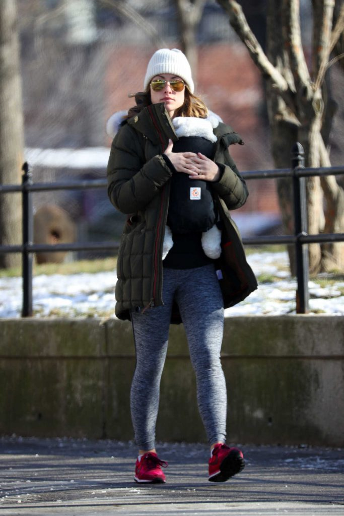 Olivia Wilde Was Seen Out in Brooklyn, New York 01/16/2017-1