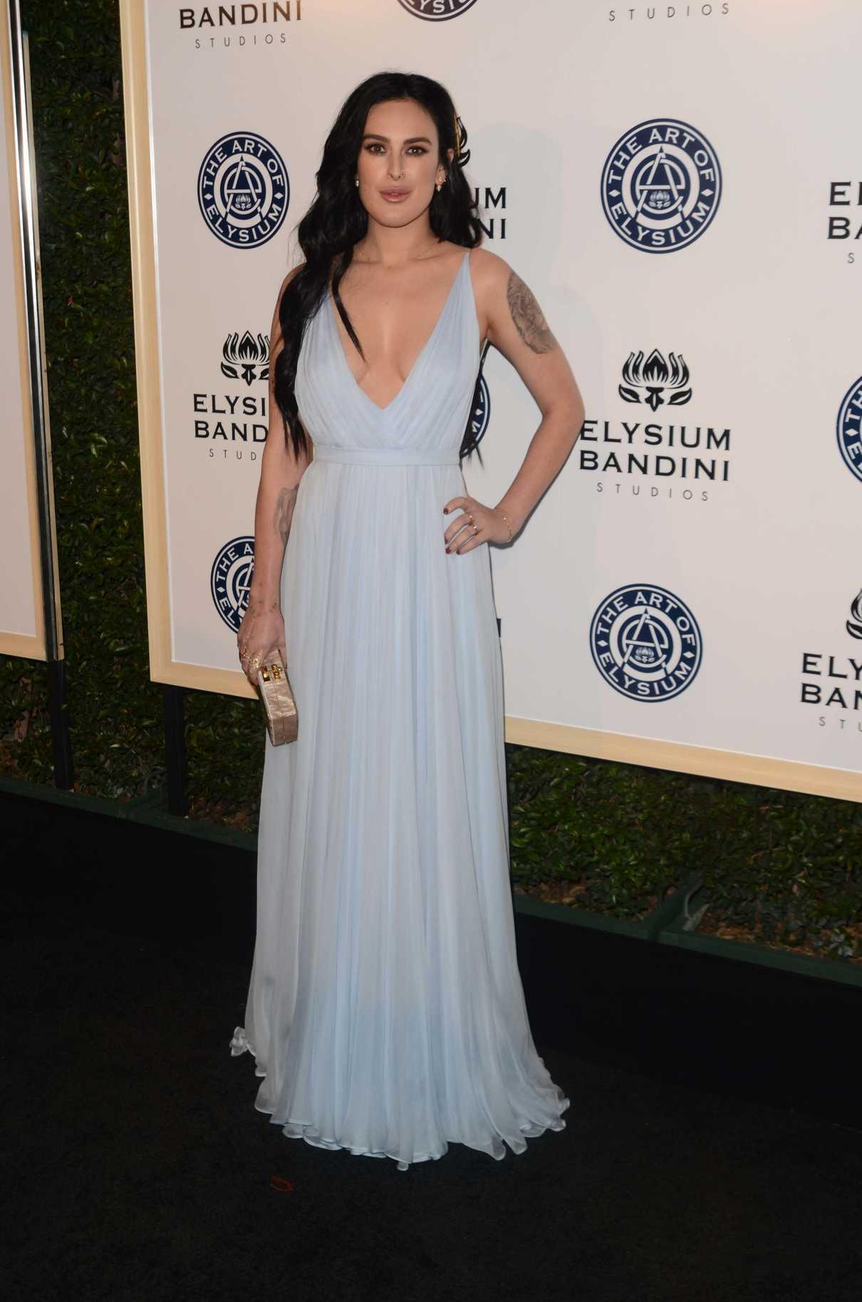 Rumer Willis at the 10rh Annual Art of Elysium Heaven Gala in Los Angeles 01/07/2017-3