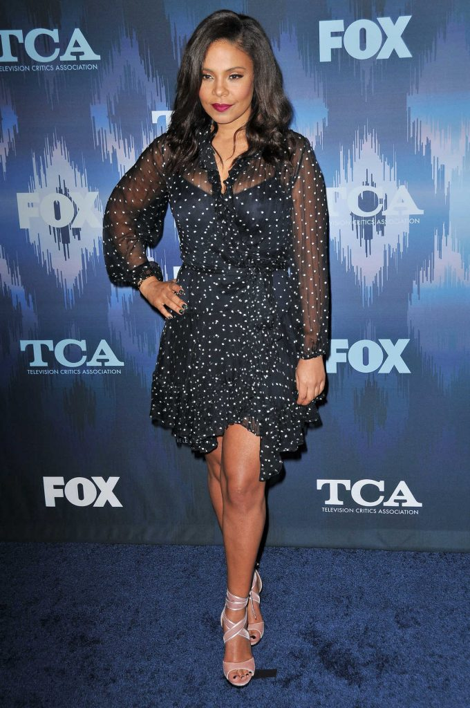 Sanaa Lathan at the FOX All-Star Party During the 2017 Winter TCA Tour in Pasadena 01/11/2017-1