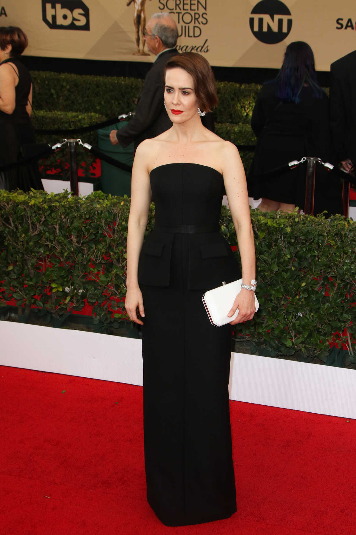 Sarah Paulson at the 23rd Annual Screen Actors Guild Awards in Los Angeles 01/29/2017