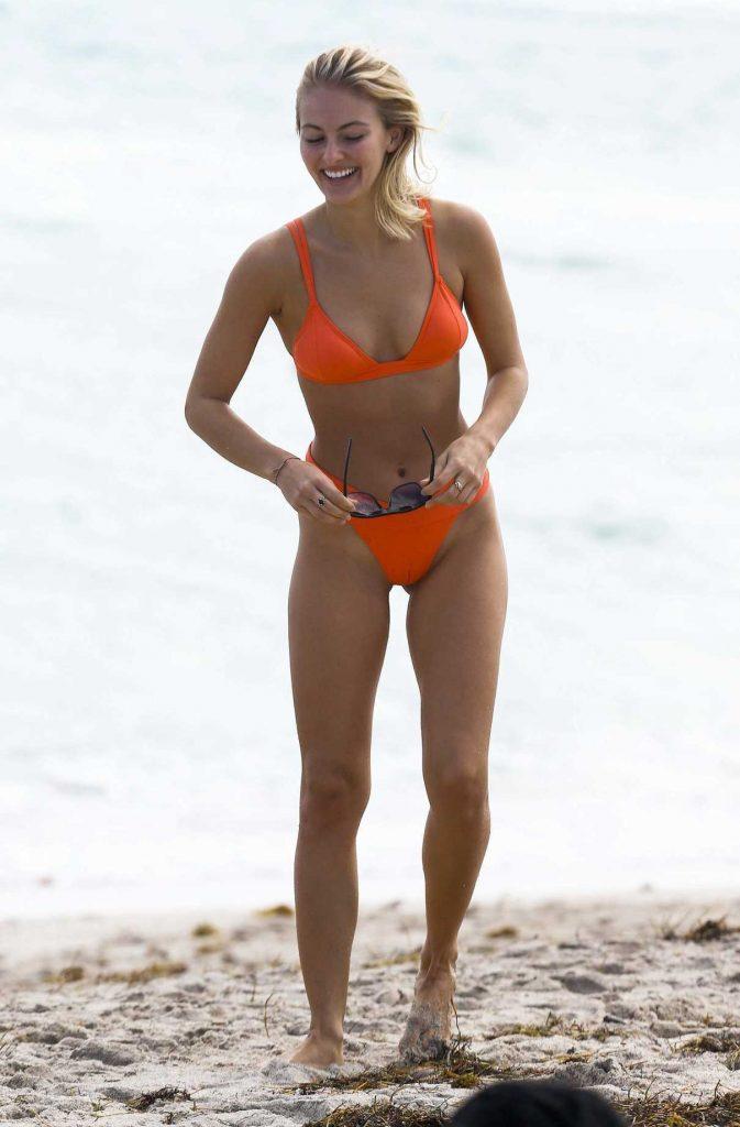 Selena Weber in Bikini at the Beach in Miami 01/13/2017-1