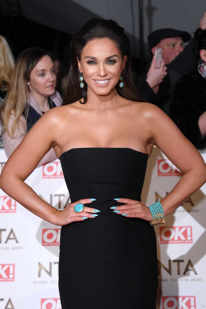 Vicky Pattison at the National Television Awards in London 01/25/2017-1